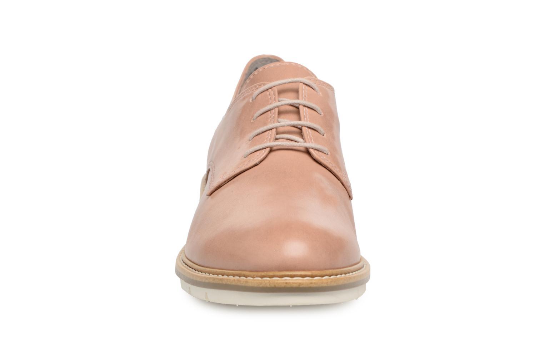 Chaussures à lacets Tamaris Absinthe Beige vue portées chaussures