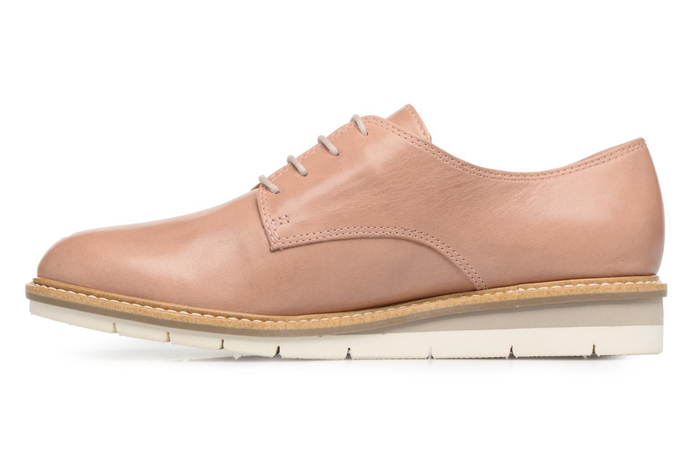Chaussures à lacets Tamaris Absinthe Beige vue face