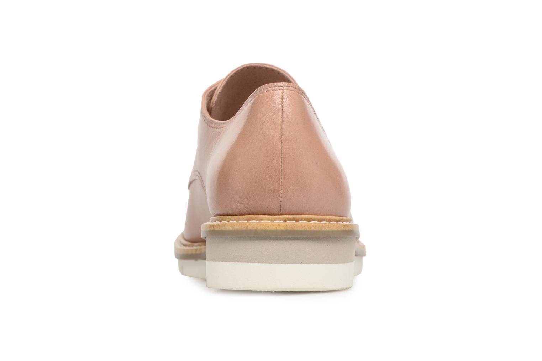 Chaussures à lacets Tamaris Absinthe Beige vue droite