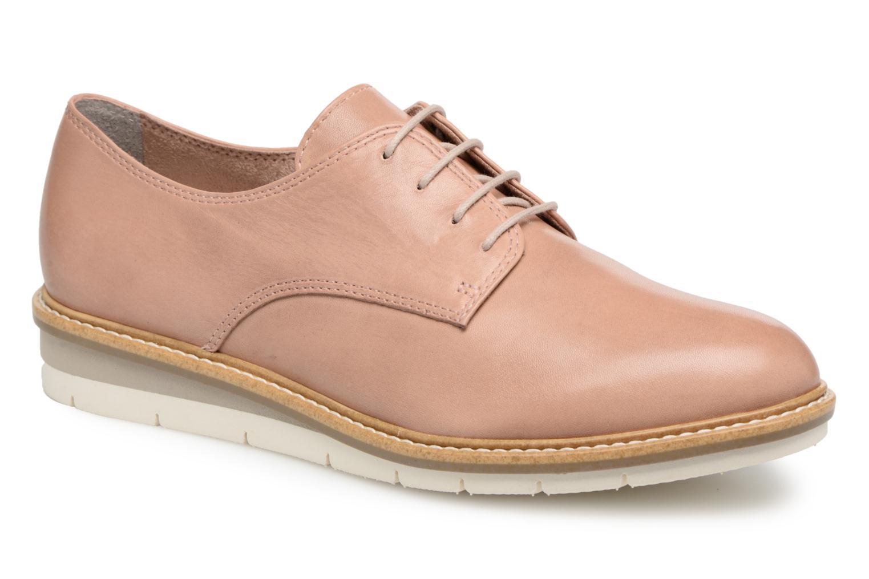 Chaussures à lacets Tamaris Absinthe Beige vue détail/paire