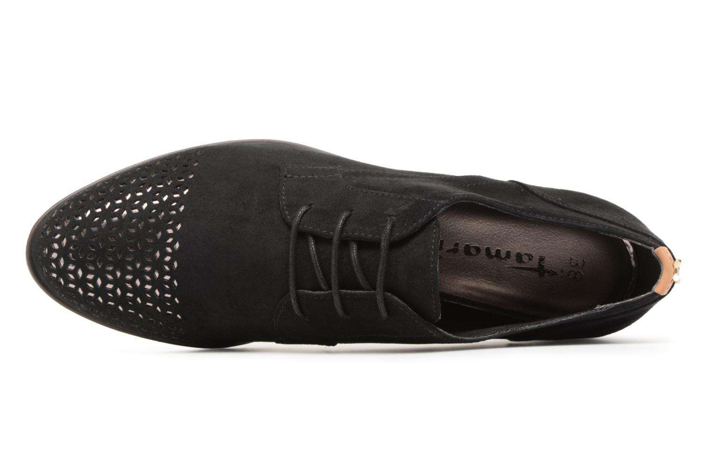 Chaussures à lacets Tamaris Romarin Noir vue gauche