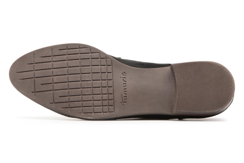 Chaussures à lacets Tamaris Romarin Noir vue haut