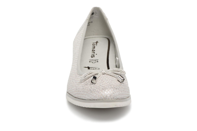 Escarpins Tamaris Myrte Argent vue portées chaussures