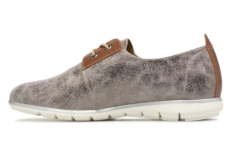 Chaussures à lacets Tamaris Tonka Argent vue face