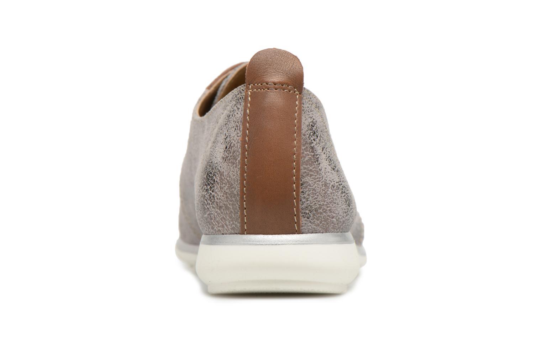 Chaussures à lacets Tamaris Tonka Argent vue droite