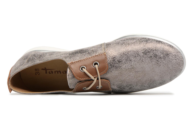 Chaussures à lacets Tamaris Tonka Argent vue gauche