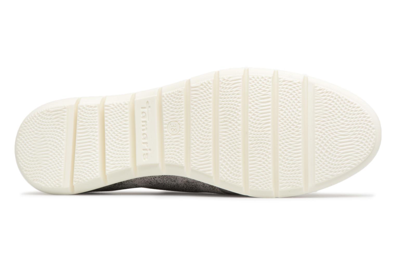 Chaussures à lacets Tamaris Tonka Argent vue haut
