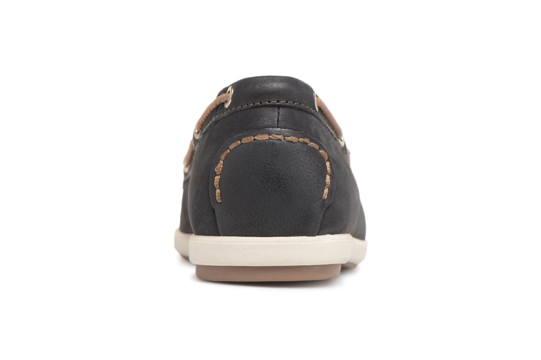 Chaussures à lacets Tamaris Kili Bleu vue droite