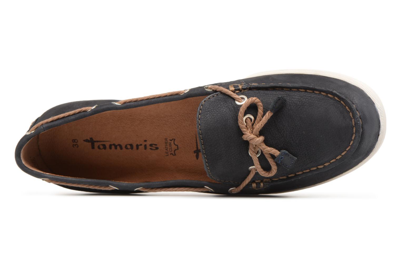 Chaussures à lacets Tamaris Kili Bleu vue gauche