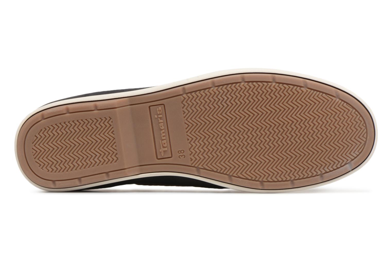 Chaussures à lacets Tamaris Kili Bleu vue haut