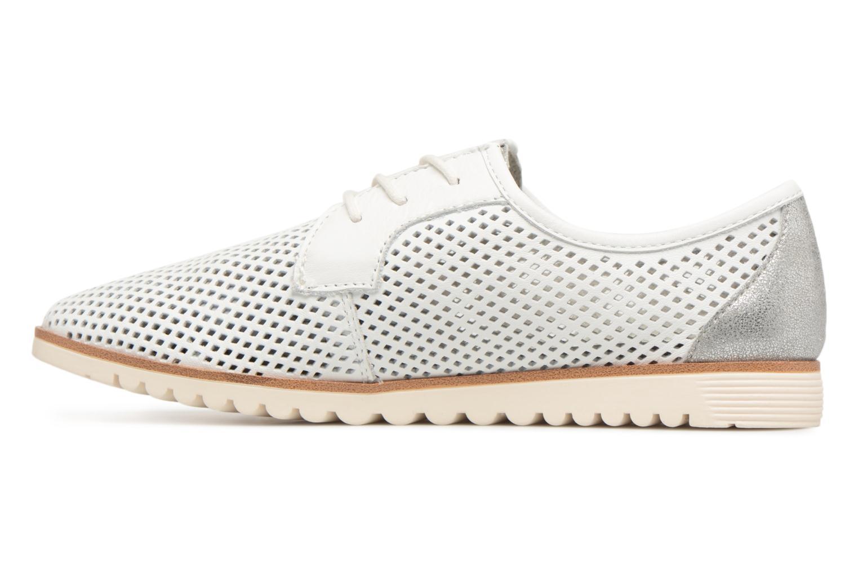 Chaussures à lacets Tamaris Laurier Blanc vue face