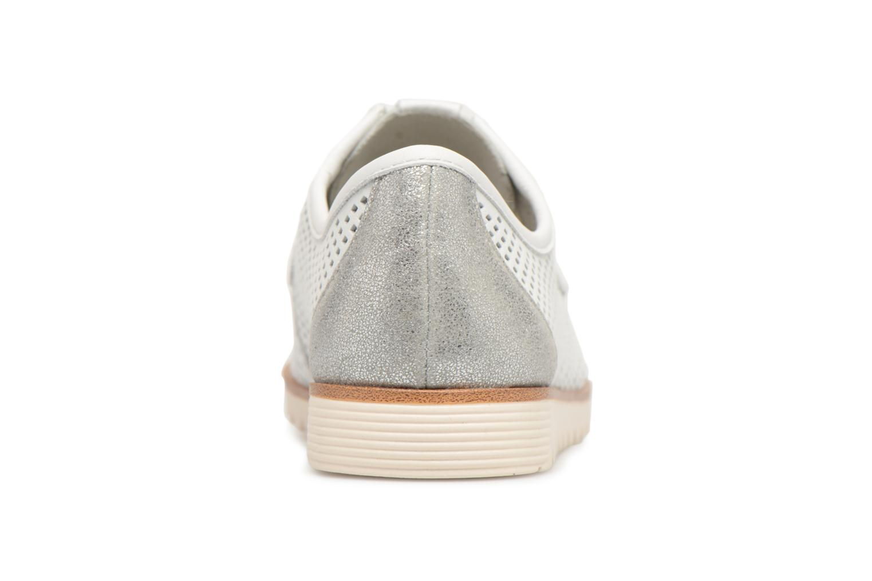 Chaussures à lacets Tamaris Laurier Blanc vue droite