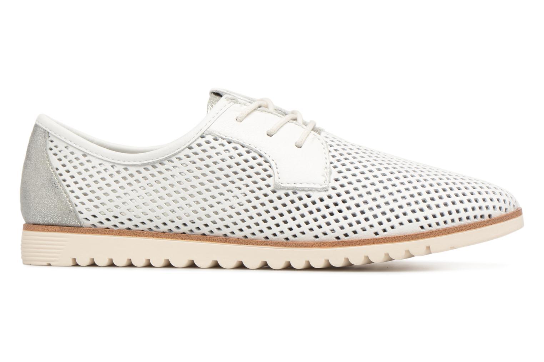 Chaussures à lacets Tamaris Laurier Blanc vue derrière