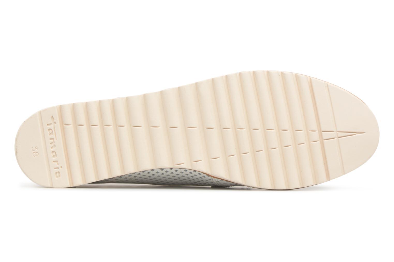 Chaussures à lacets Tamaris Laurier Blanc vue haut