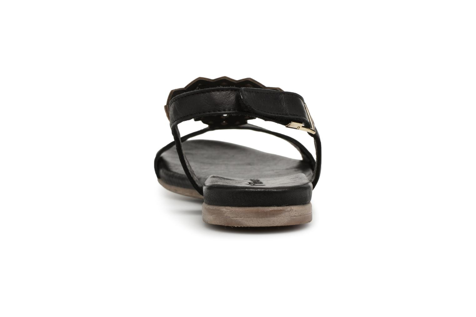 Sandals Tamaris Asaret Black view from the right