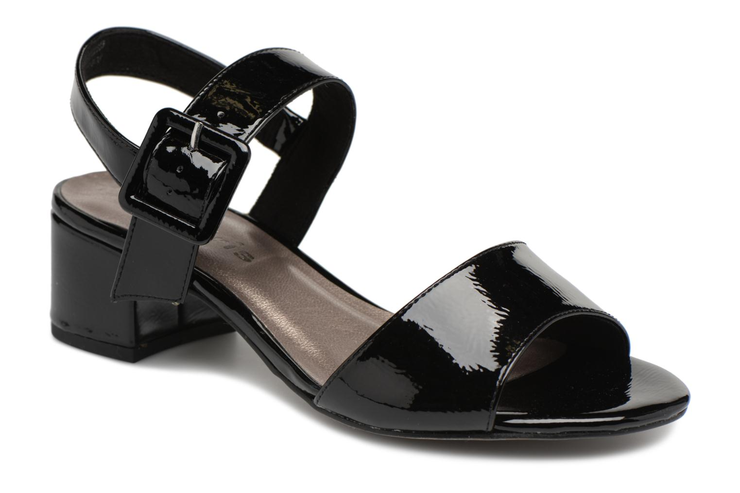 Marques Chaussure femme Tamaris femme Agave 2 Vernis Black