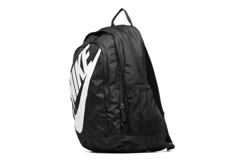 Zaini Nike Nike Sportswear Hayward Futura Backpack Nero modello indossato