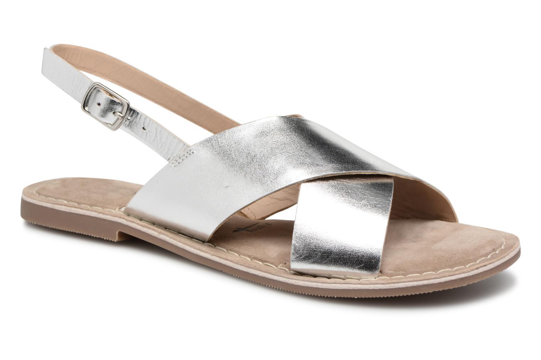 Zapatos casuales salvajes Tamaris Pallas (Plateado) - Sandalias en Más cómodo