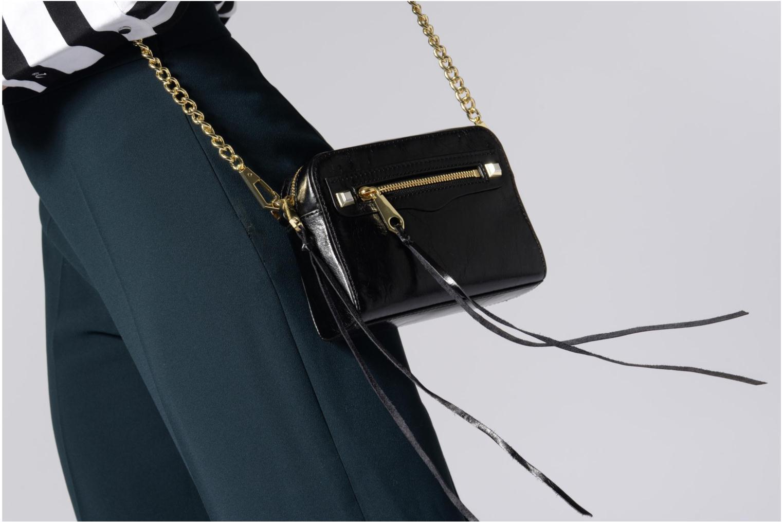 Handtaschen Rebecca Minkoff REGAN CAMERA BAG schwarz ansicht von oben