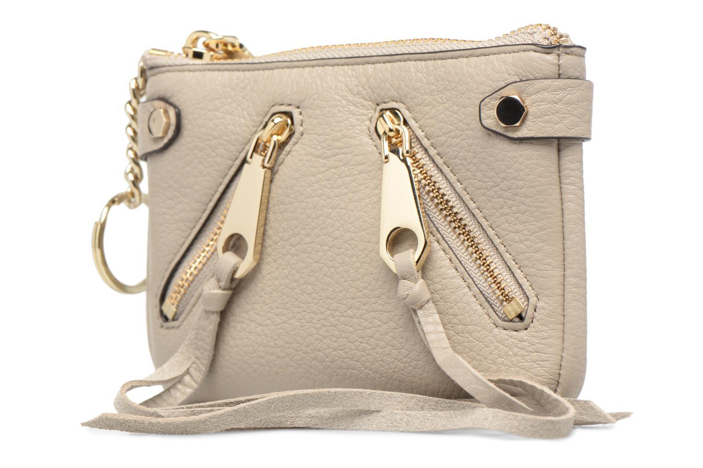 Handtaschen Rebecca Minkoff MOTO POUCH beige schuhe getragen