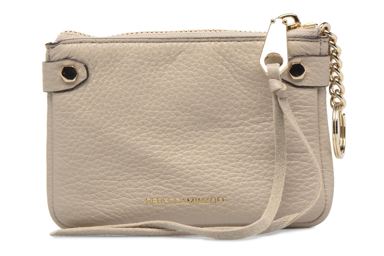 Handtaschen Rebecca Minkoff MOTO POUCH beige ansicht von vorne