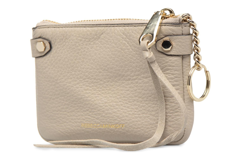 Handtaschen Rebecca Minkoff MOTO POUCH beige ansicht von rechts