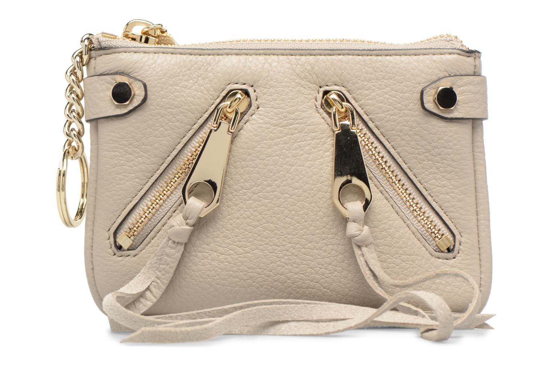Handtaschen Rebecca Minkoff MOTO POUCH beige detaillierte ansicht/modell