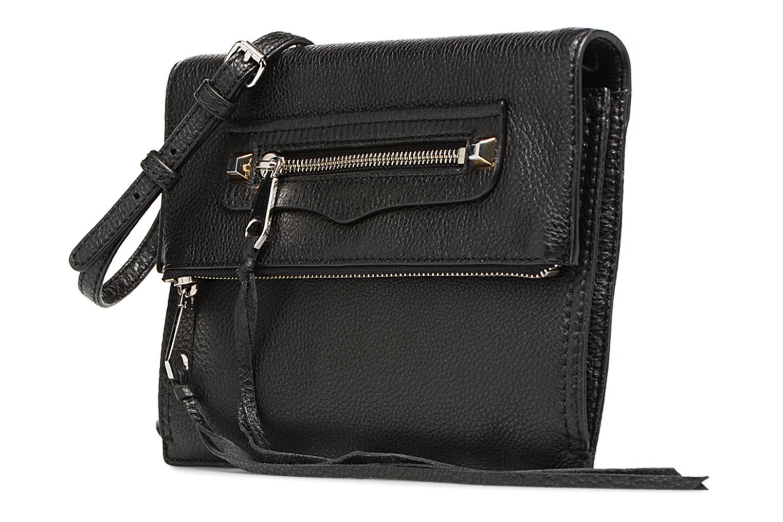 Handtaschen Rebecca Minkoff SMALL REGAN CLUTCH schwarz schuhe getragen