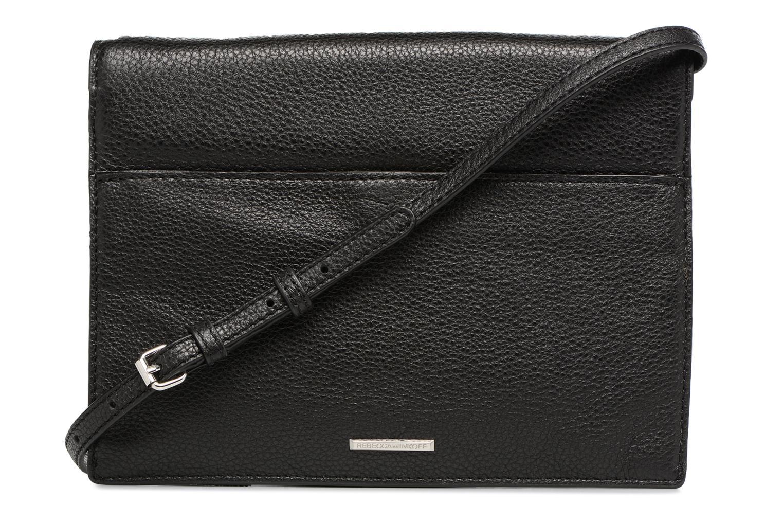 Handtaschen Rebecca Minkoff SMALL REGAN CLUTCH schwarz ansicht von vorne