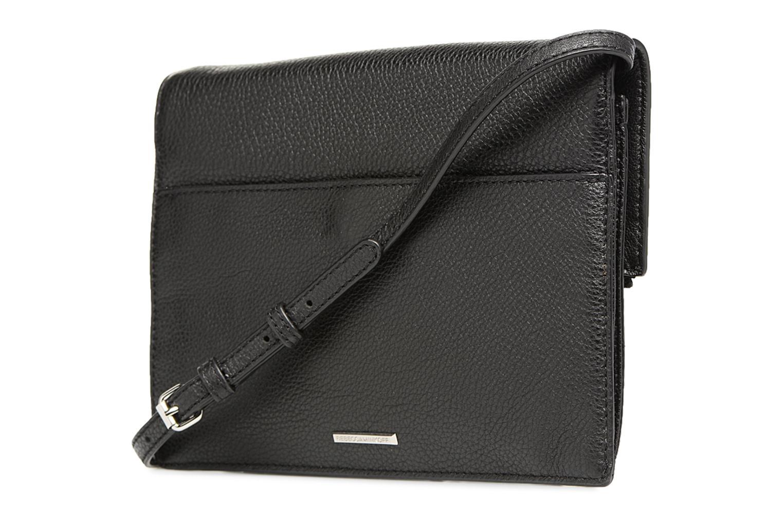 Handtaschen Rebecca Minkoff SMALL REGAN CLUTCH schwarz ansicht von rechts