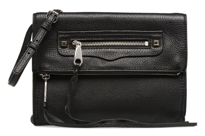Handtaschen Rebecca Minkoff SMALL REGAN CLUTCH schwarz detaillierte ansicht/modell