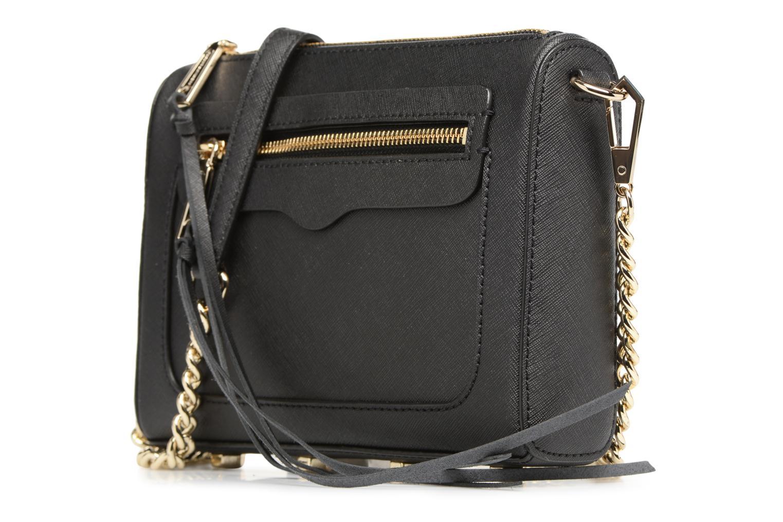 Handtaschen Rebecca Minkoff SAFFIANO AVERY CROSSBODY schwarz schuhe getragen