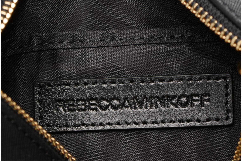 Handtaschen Rebecca Minkoff SAFFIANO AVERY CROSSBODY schwarz ansicht von hinten