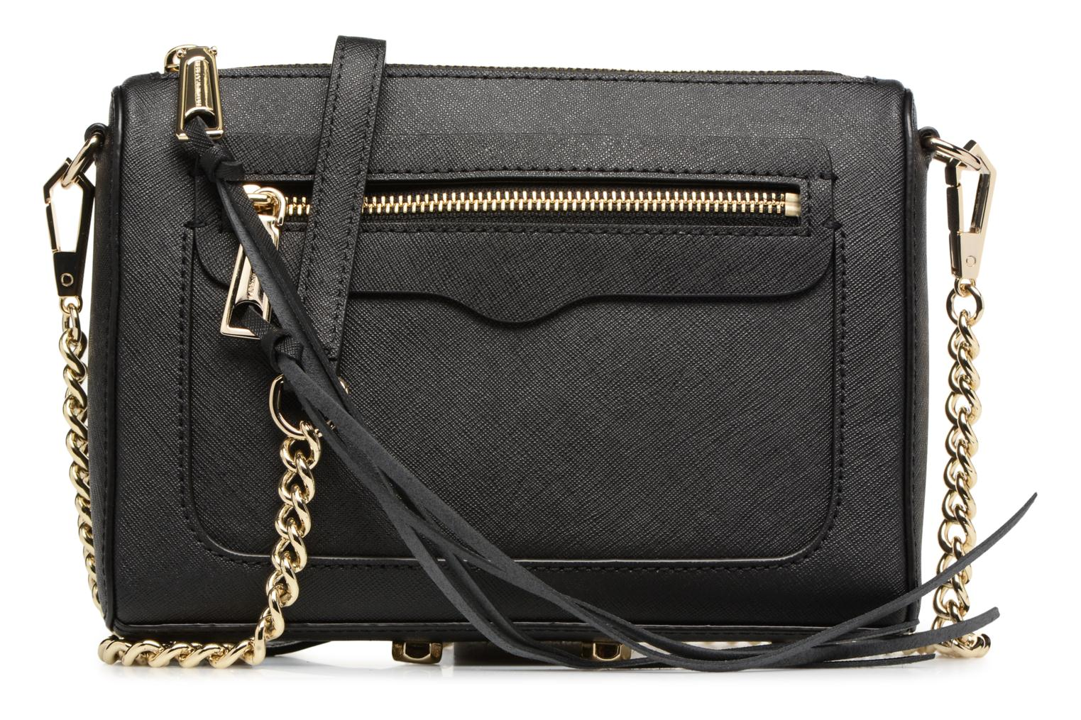 SAFFIANO AVERY CROSSBODY Black