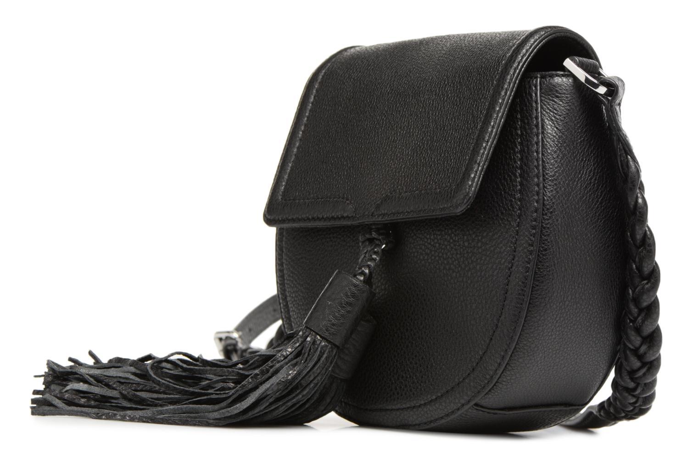 Sacs à main Rebecca Minkoff ISOBEL SADDLE BAG Noir vue portées chaussures