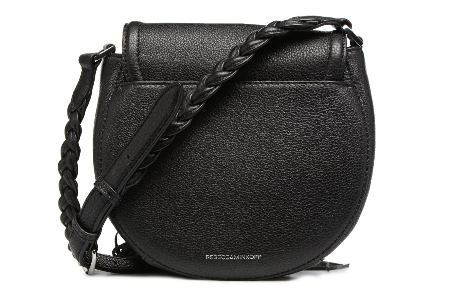 Sacs à main Rebecca Minkoff ISOBEL SADDLE BAG Noir vue face