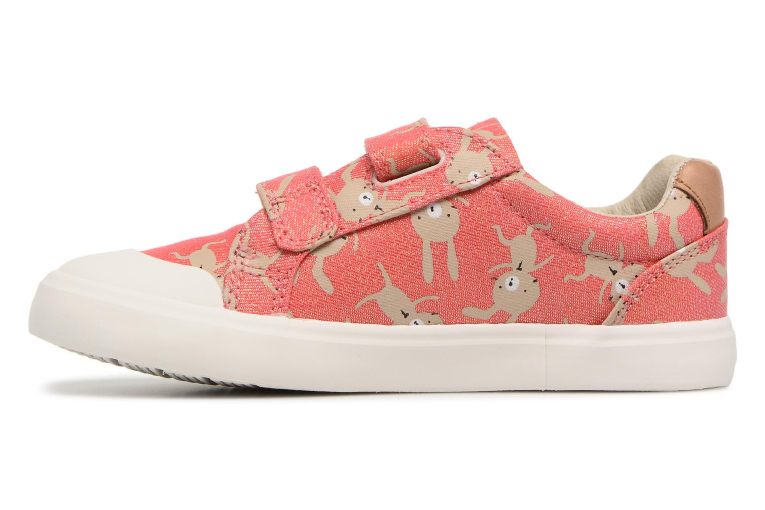Trainers Clarks Comic Cool Pink view from the right