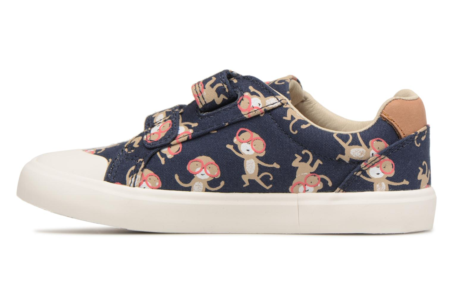 Trainers Clarks Comic Air Blue front view