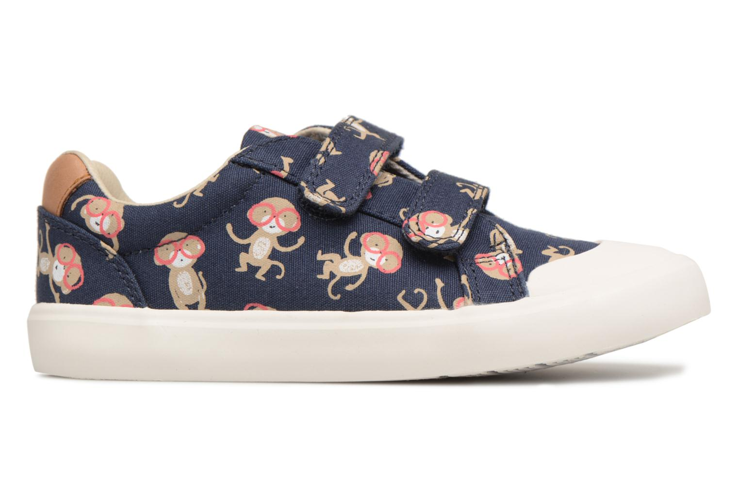 Trainers Clarks Comic Air Blue back view
