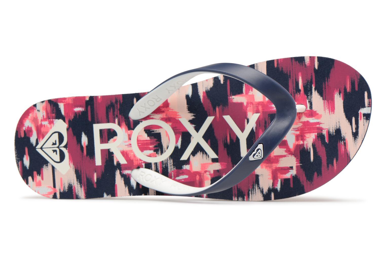 Tongs Roxy Rg Thaiti VI Multicolore vue gauche