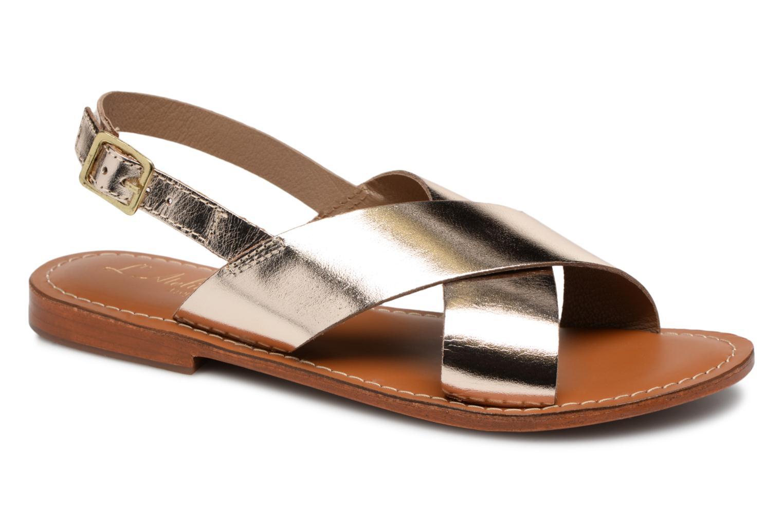 Grandes descuentos últimos zapatos L'Atelier Tropézien Jade (Oro y bronce) - Sandalias Descuento