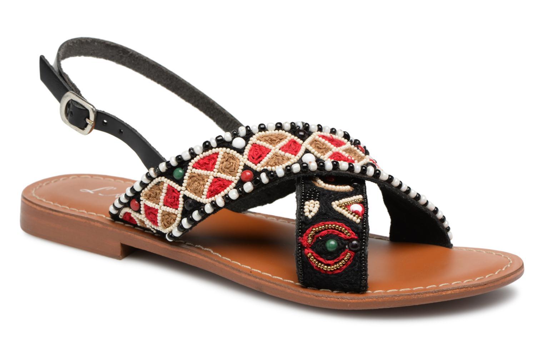 Zapatos promocionales L'Atelier Tropézien Lauren (Negro) - Sandalias   Venta de liquidación de temporada
