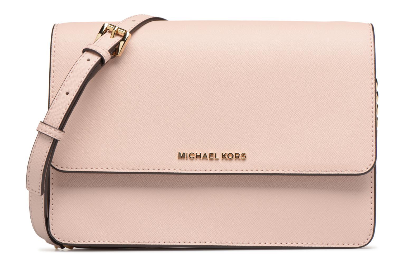 Bolsos de mano Michael Michael Kors LG Gusset Crossbody Rosa vista de detalle / par