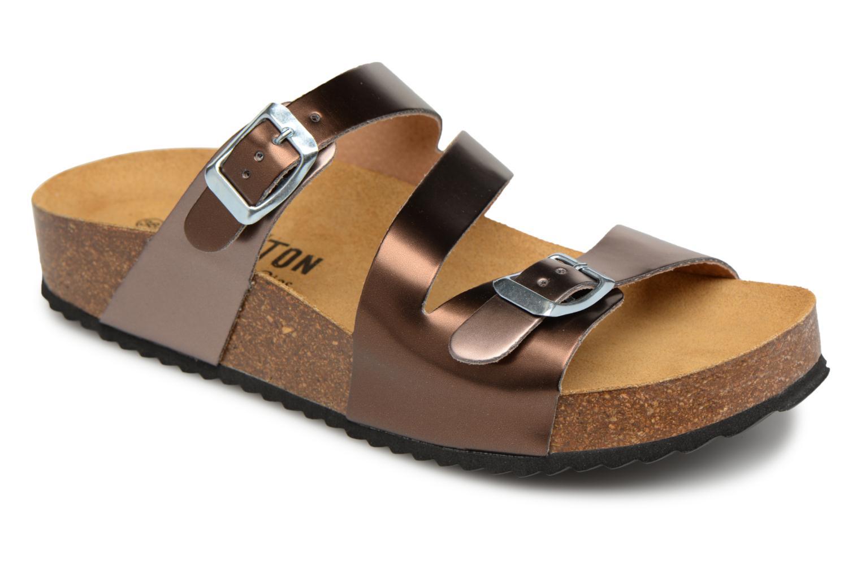 Grandes descuentos últimos zapatos Plakton CP Bolino (Oro y bronce) - Zuecos Descuento
