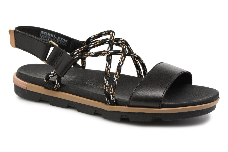 Grandes descuentos últimos zapatos Sorel Torpeda Sandal II (Negro) - Sandalias Descuento