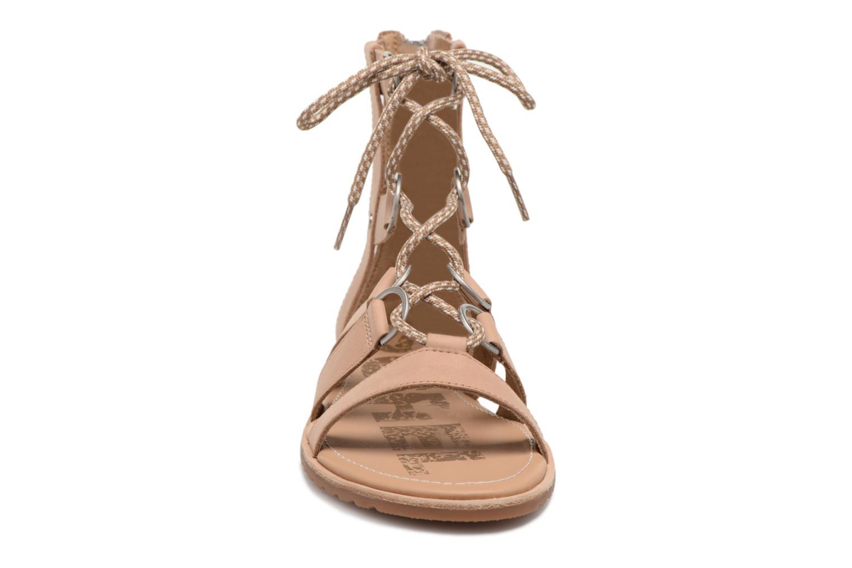 Sandales et nu-pieds Sorel Ella Lace Up Marron vue portées chaussures