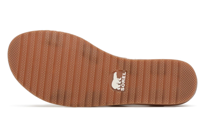 Sandales et nu-pieds Sorel Ella Lace Up Marron vue haut