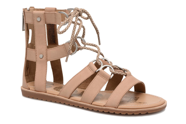 Sandales et nu-pieds Sorel Ella Lace Up Marron vue détail/paire