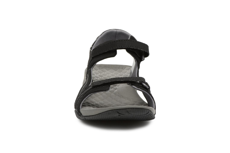 Chaussures de sport Columbia Sunlight Vent II Noir vue portées chaussures