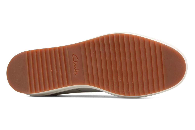 Chaussures à lacets Clarks Teadale Rhea Blanc vue haut
